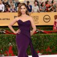 Camila Alves veste Donna Karan no Screen Actors Guild Awards 2015