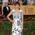 Rashida Jones veste Emanuel Ungaro no Screen Actors Guild Awards 2015