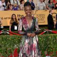 Lupita Nyong'o veste Elie Saab no Screen Actors Guild Awards 2015