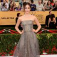 Emmy Rossum veste Armani Privé no Screen Actors Guild Awards 2015