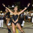 Sabrina Sato é madrinha de bateria da Gaviões da Fiel, escola de samba de São Paulo