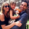 Ticiane Pinheiro passou férias nos Estados Unidos com a filha, Rafaella, e o namorado, Cesar Tralli