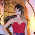 Mariana Ximenes prestigiou evento de moda nesta quarta-feira, 4 de janeiro de 2015, e contou que viajará para Portugal na próxima semana