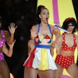 Katy Perry foi confirmada no Grammy Awards 2015 depois do sucesso de sua performance no Super Bowl 2015