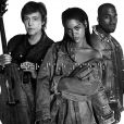 Rihanna, Kanye West e Paul McCartney vão apresentar juntos a música 'FourFiveSeconds' no Grammy Awards 2015