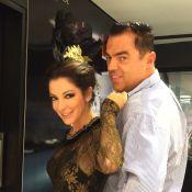 Ana Paula Padrão, do 'Master Chef', e famosas se arrumam para o Baile Vogue 2015