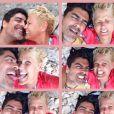 Xuxa compartilha momentos ao lado do namorado, Junno Andrade: 'Férias', escreveu ela na legenda do registro, compartilhado no Facebook, desta segunda-feira, 9 de fevereiro de 2015