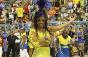 Carnaval: Juliana Alves afirma que perdeu 7kg para desfilar na Unidos da Tijuca