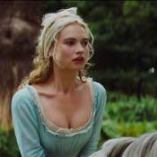 Lily James aparece como Cinderela em novo trailer da adaptação do conto de fadas