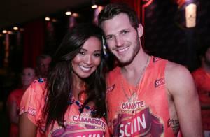 Carol Nakamura curte Carnaval de Salvador com o namorado, Raphael Lacchine