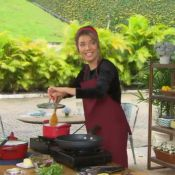 'Estrelas': alérgica, Luiza Possi ensina receita de peixe empanado sem glúten