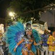 Raissa de Oliveira, rainha de bateria da Beija-Flor, usa fantasia com 30 mil cristais avaliada em R$ 45 mil