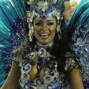 Rainha de bateria da Beija-Flor, Raissa de Oliveira usa fantasia de R$ 45 mil
