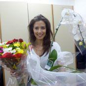 Marjorie Estiano grava última cena da novela 'Império' e se despede: 'Adorei'