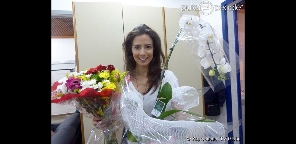 Marjorie Estiano grava última cena da novela 'Império' e se despede: 'Adorei', afirmou ela nesta quinta-feira, 19 de fevereiro de 2015