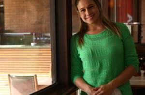 Grávida, Fernanda Gentil espera um menino e terá rotina fitness exibida na TV
