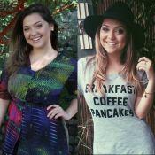 Polliana Aleixo emagrece 12 kg após novela: 'Gosto de ser magra, mas ter curvas'