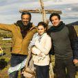 Recentemente, Isabelle Drummond gravou ao lado de Domingos Montagner e Michel Noher na Patagônia Argentina
