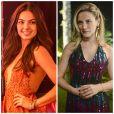 Sandra (Isis Valverde) e Vitória (Bianca Bin) comemoram seu aniversário com suas respectivas famílias de criação, em 'Boogie Oogie', em 02 de março de 2015