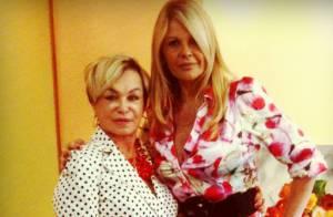 Monique Evans leva a mãe para hospital: 'Pneumonia, mas está tudo bem'