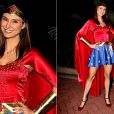 Na comemoração do seu aniversário de 35 anos, a atrizLavínia Vlasak optou pelo uniforme da heroína, em junho de 2011