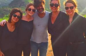 Final de 'Império': mulheres e filhas de José Alfredo jogam suas cinzas no Monte