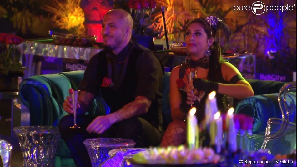 7ed338360 BBB15   Amanda provoca Fernando em festa e brother visita sister só ...
