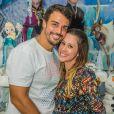 Dani Monteiro está grávida de sete meses de seu segundo bebê, desta vez um menino, Bento