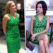 Angélica repete vestido usado na TV por Andreia Horta para apresentar 'Estrelas'