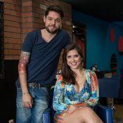 Andressa e Nasser, do 'BBB13', cuidam de salão no Rio: 'Dividimos o secador'