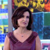 Fátima Bernardes diz trocar escada tradicional por rolante: 'É feio, mas faço'