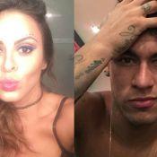 Alinne Rosa ganha parabéns de Neymar em vídeo: 'Um grande beijo'
