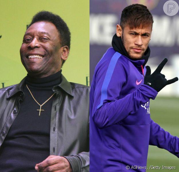 Pelé afirmou que não acredita na possibilidade de Neymar superá-lo como rei do futebol: 'Impossível'