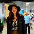 Bruna Marquezine desembarca no Rio de Janeiro após temporada em Nova York para gravar cenas de 'I Love Paraisópolis'