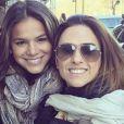 Bruna Marquezine e Tatá Werneck gravam cenas de 'I Love Paraisópolis' em Nova York, nos Estados Unidos