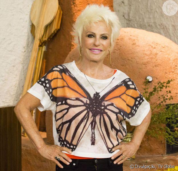 Ana Maria Braga faz aniversário de 66 anos nesta quarta-feira, 1º de abril de 2015