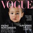 Rolou nas redes sociais uma capa falsa da revista 'Vogue Kids' com a filha de Kim Kardashian e Kanye West, North