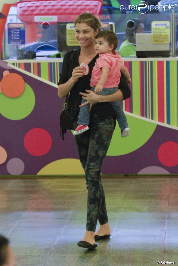 Grazi Massafera planeja a festa de 1 ano da filha, Sofia