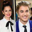 Os cantores Cheryl Cole e Justin Bieber ficaram em sexto lugar