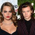 O novo lugar ficou com a top Cara Delevingne ficou e Harry Styles, integrante do One Direction e mais um ex de Taylor Swift