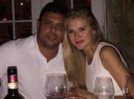 Ronaldo janta com a namorada, Celina Locks, e ganha declaração: 'Te amo'