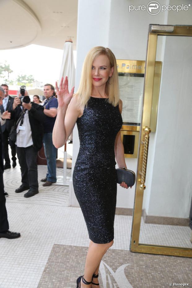 Nicole Kidman é uma das juradas do Festival Internacional de Cinema de Cannes, na França, e chegou à Riviera Francesa nesta terça-feira, 14 de maio de 2013