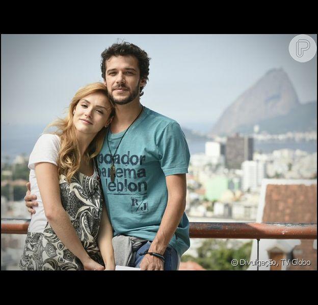 Júlia (Isabelle Drummond) e Pedro (Jayme Matarazzo) descobrem que não são irmãos, mas ainda não conseguem ficar juntos, em 'Sete Vidas', a partir de 14 de abril de 2015