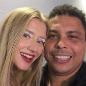 Ronaldo prestigia desfile da namorada, Celina Locks, na SPFW: 'Meu avatar'