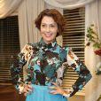 Fabiula Nascimento esteve na coletiva de imprensa da novela 'I Love Paraisópolis', nesta terça-feira, 14 de abril de 2015
