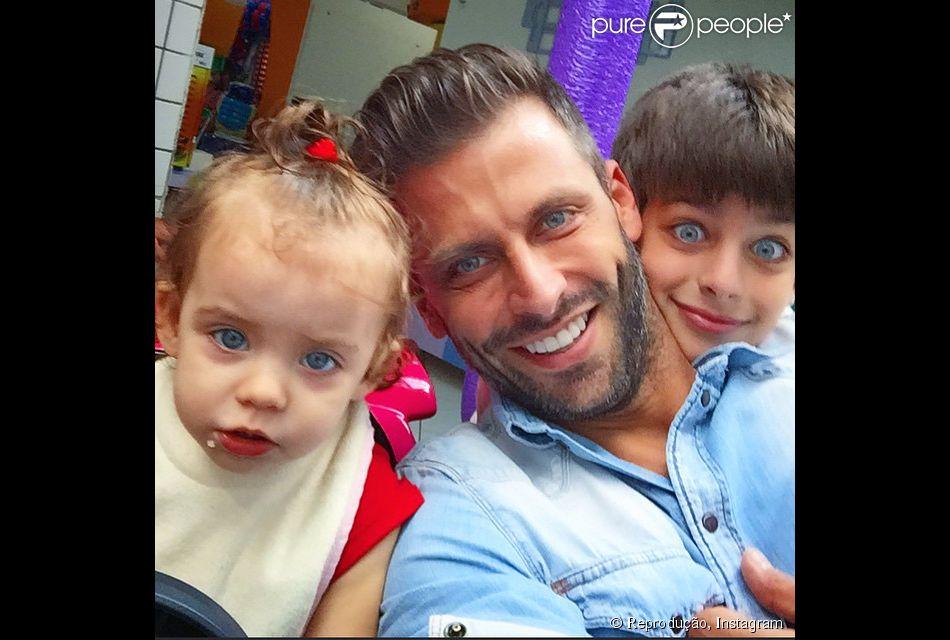 Henri Castelli procura ter um convívio pacífico com as mães de seus filhos: 'Quanto mais amigo, melhor'