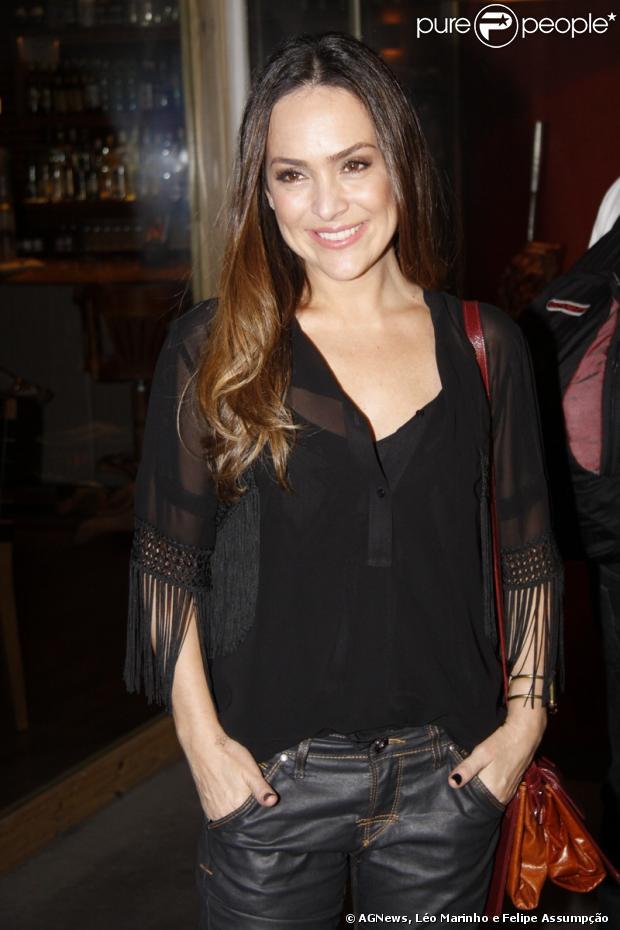 Gabriela Duarte fez apenas uma participação na novela, mas fez ...