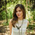 Bruna Hamu fez seu primeiro fixo na novela 'Malhação', na temporada 'Malhação Sonhos'. Antes ela fez Karol, na novela 'Sangue Bom'