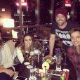 Paulo Gustavo e Thales Bretas já jantaram com Bruna Marquezine e Tatá Werneck em Nova York, nos EUA