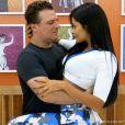Adriano Garib e Aline Riscado dançam juntos